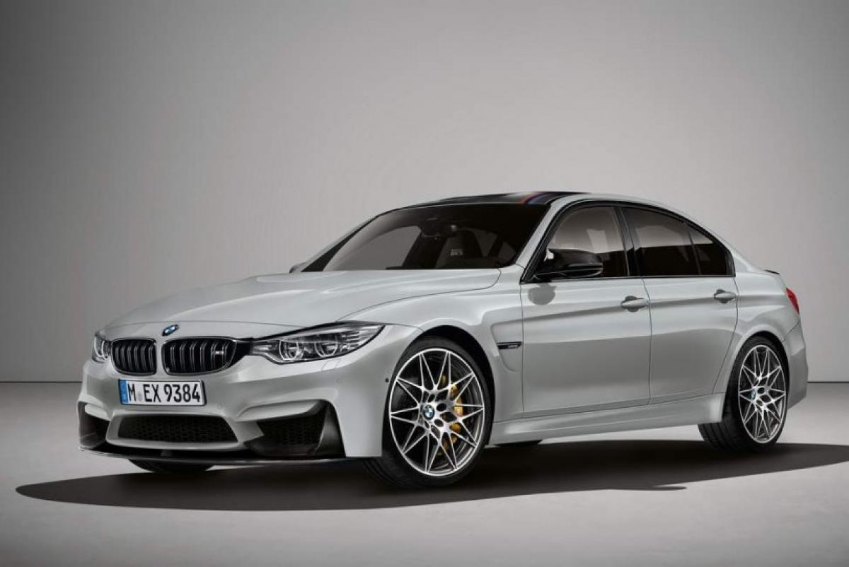 Check out: BMW M3 30 Jahre Edition in Frozen silver metallic paint