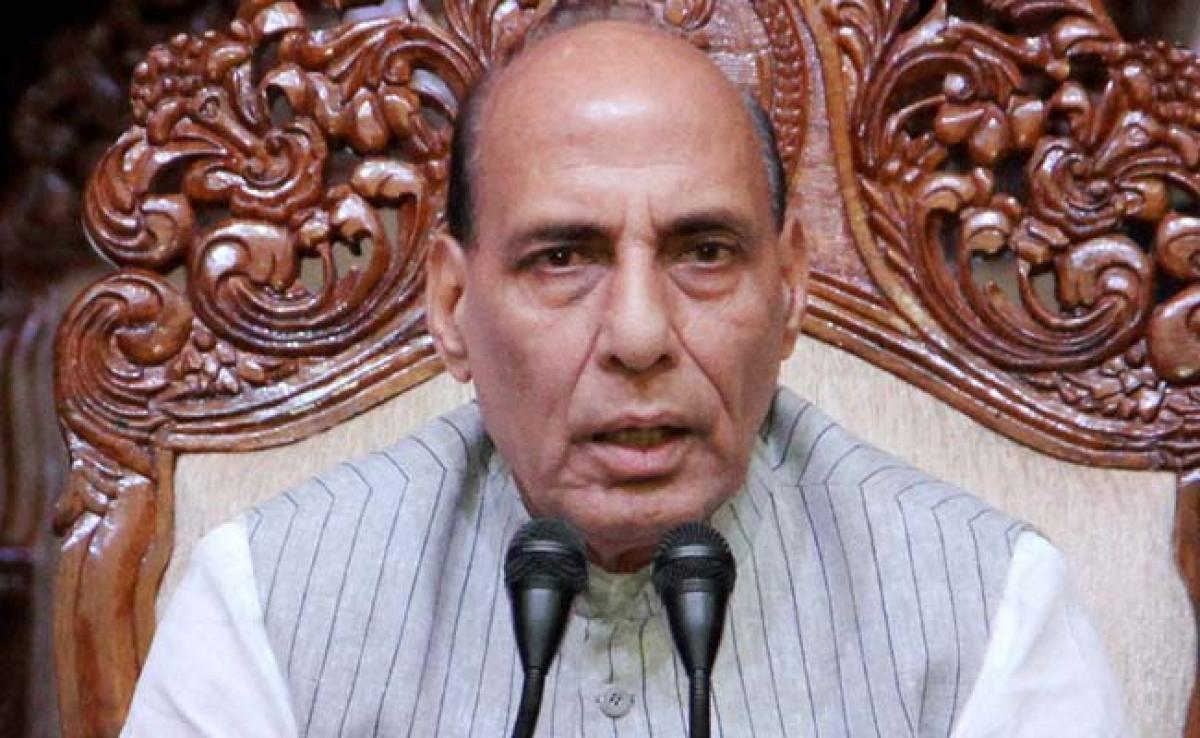 Border With Bangladesh, Pak Will Be Sealed: Rajnath Singh