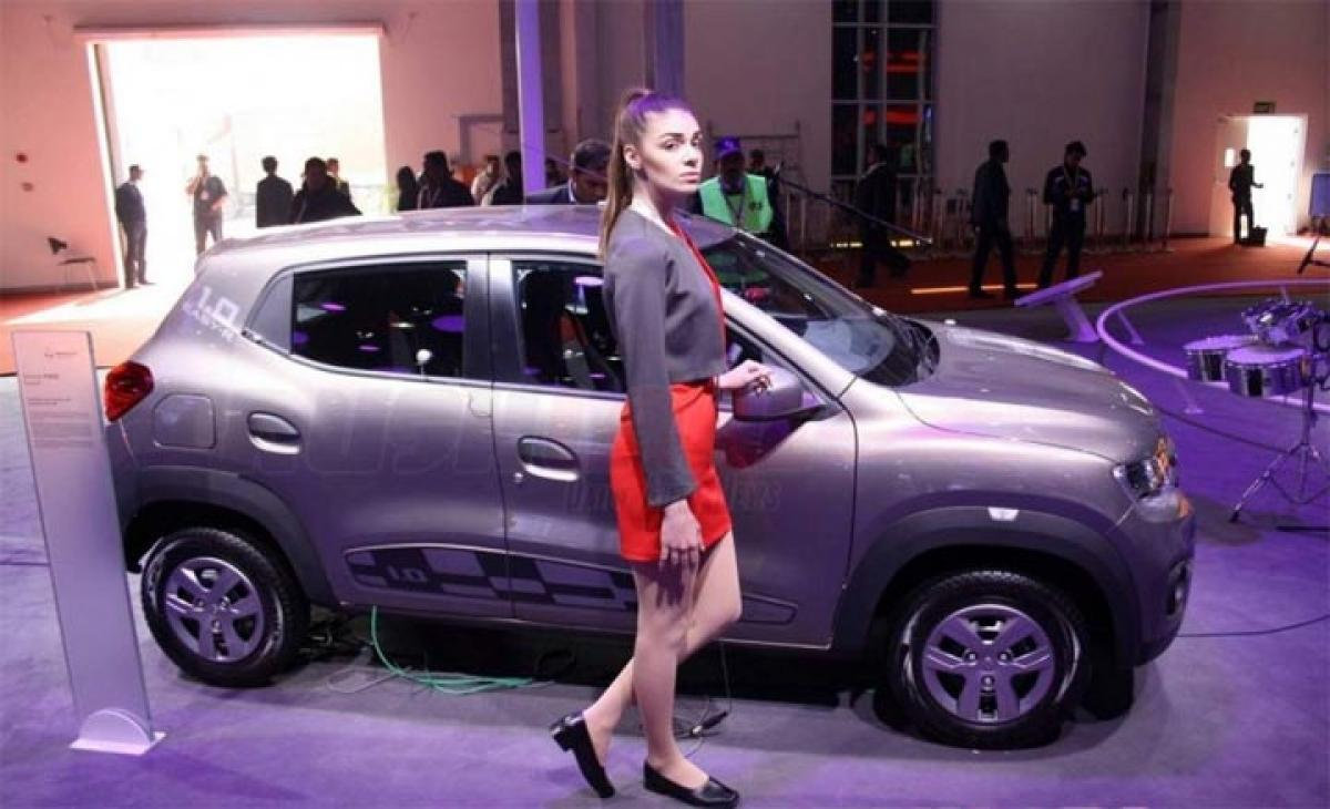Renault Kwid AMT features at Auto Expo