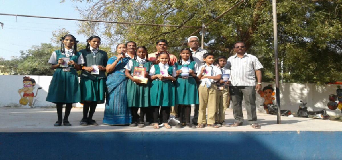 Gita Jayanti celebrated at school