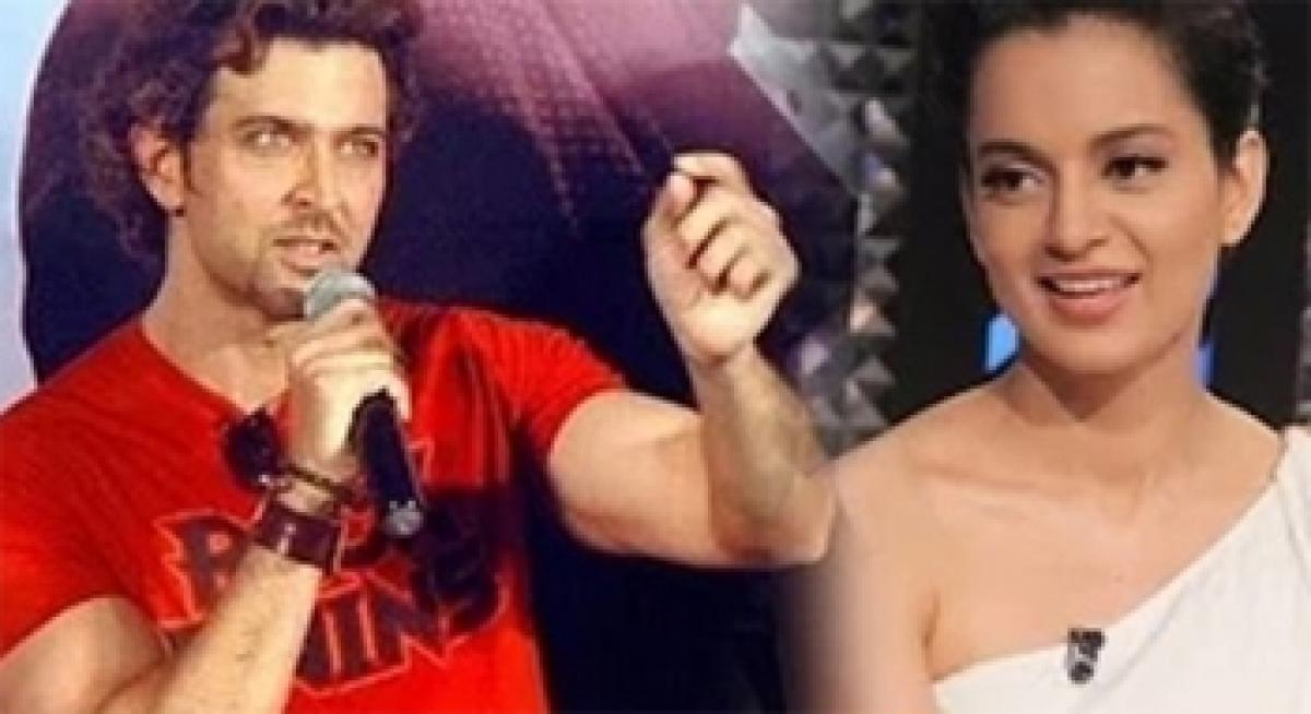 Hrithik sharing Kangnas private emails invites wrath