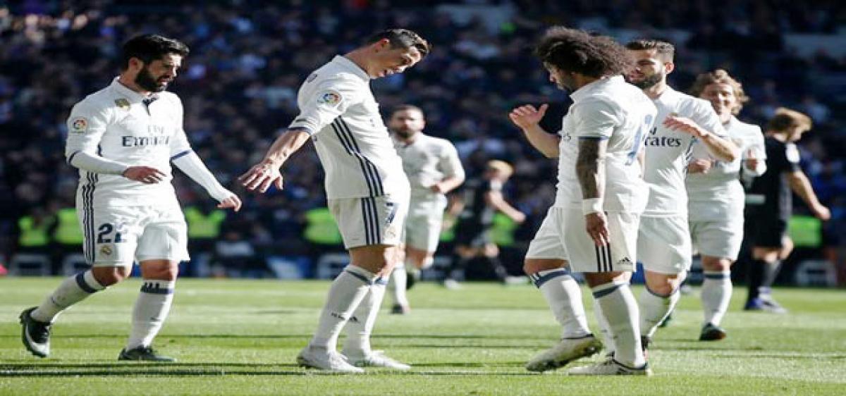 Unbeaten Real Madrid equal Spanish record