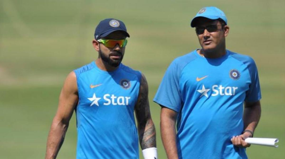 Virat Kohli, Anil Kumble unhappy with Edgbaston practice facility