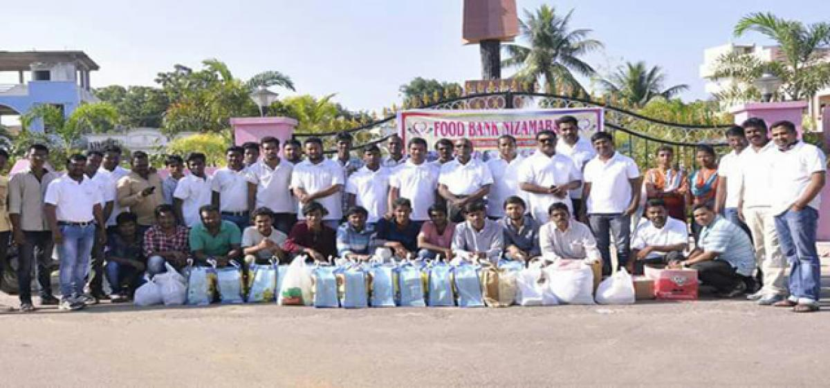 Food Bank to end pangs of hunger