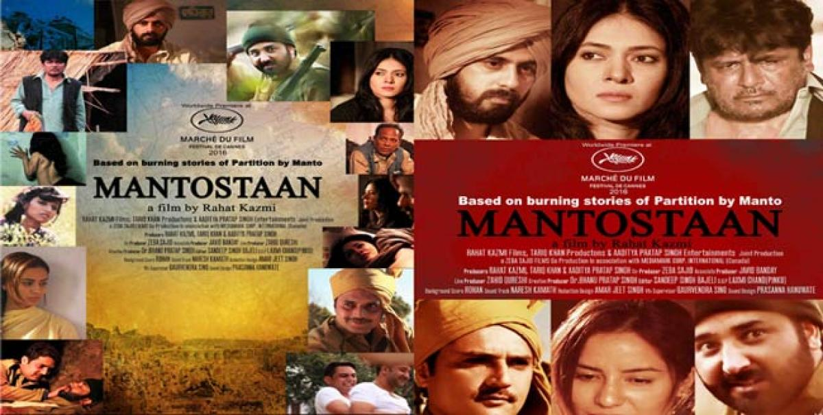 ​MANTOSTAAN Film is based on burning stories of Partition by Manto