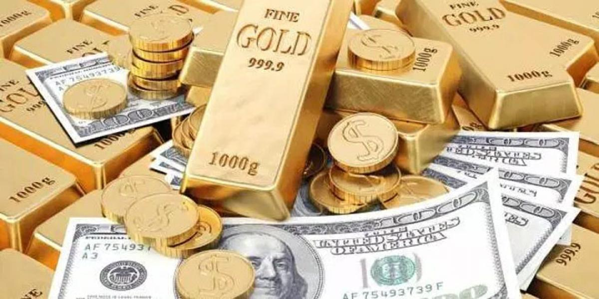 Gold down on stronger US dollar