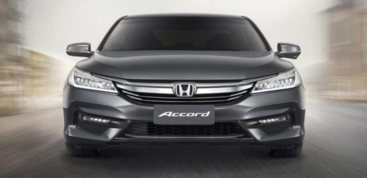 Honda Accord Facelift Revealed