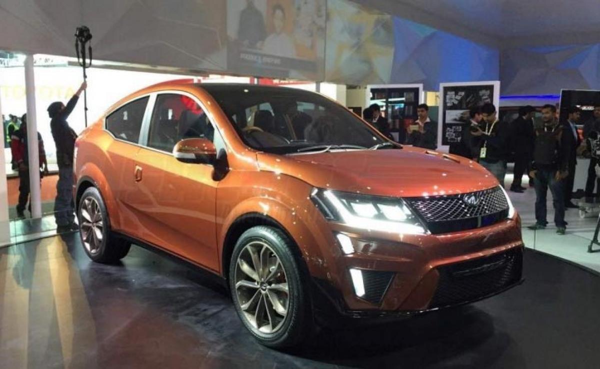 Mahindra XUV Aero debuts at 2016 Auto Expo