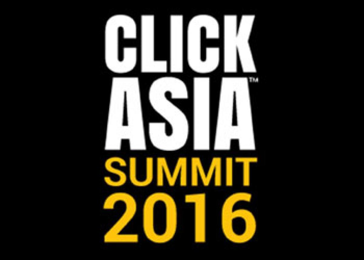 Click Asia Summit 2016 Gets the Best Minds from Across the World