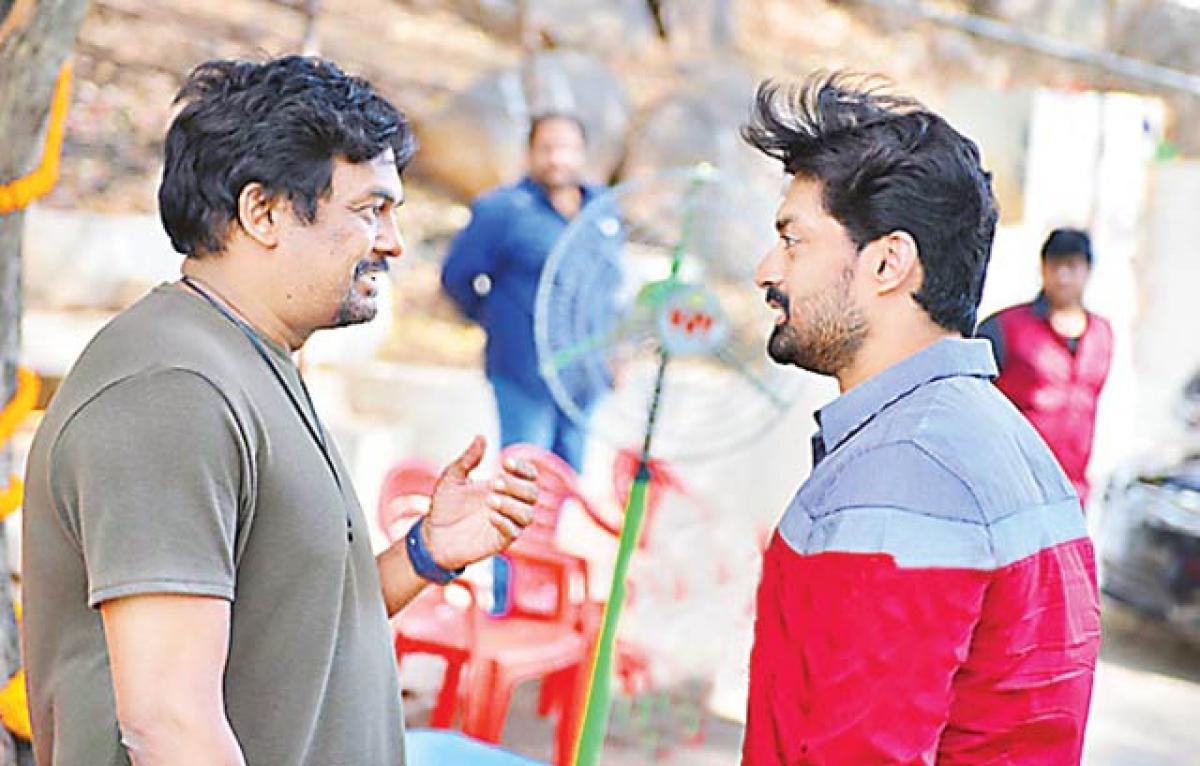 Puri-Kalyanram film takes off