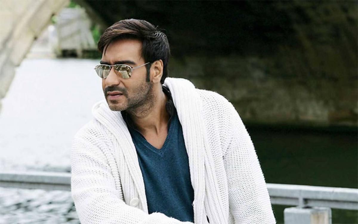Ajay Devgan unveils first look of `Shivaay`