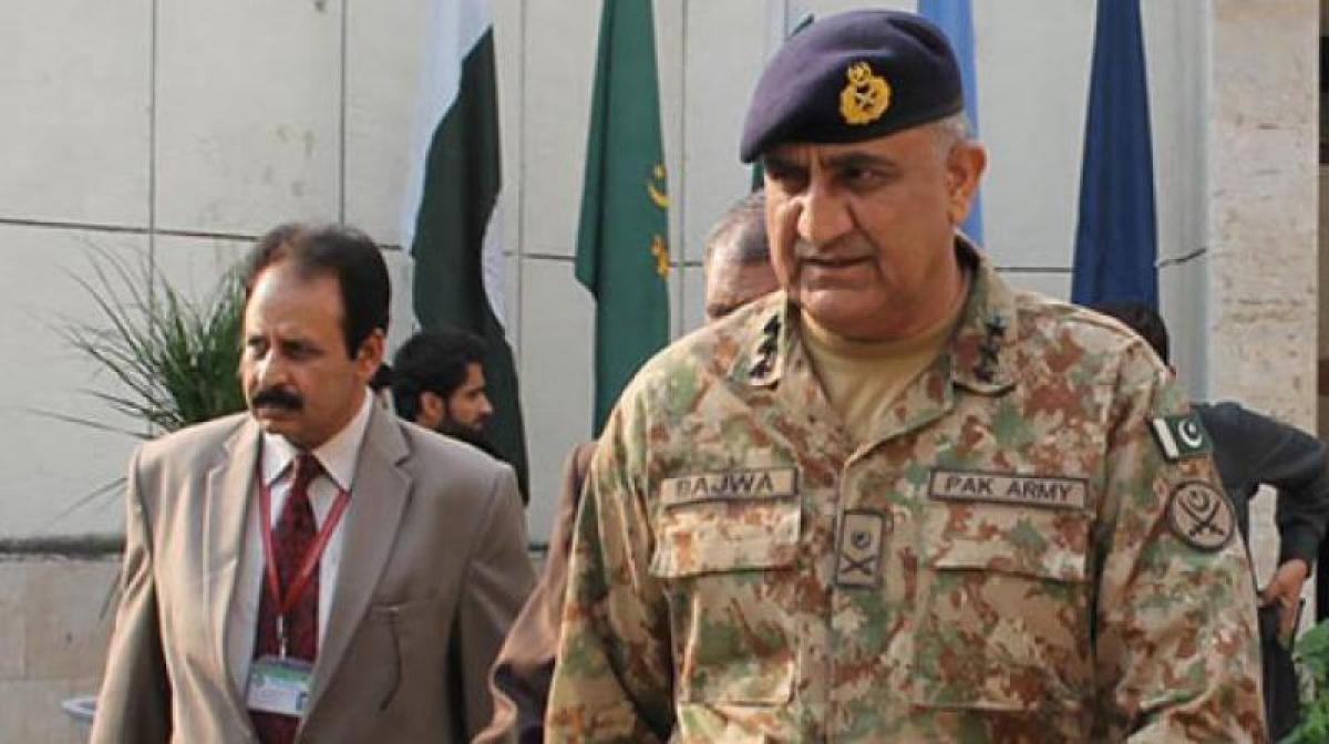 India claims militants presence at LoC to create unrest in PoK: Pak Army Chief