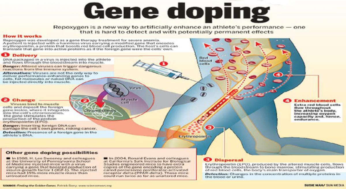 Gene doping can change nature of sports.