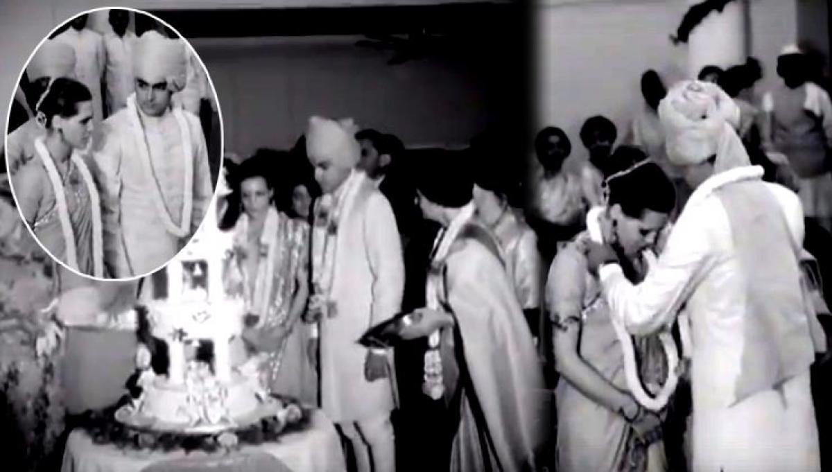 Glimpse into Rajiv and Sonia Gandhi