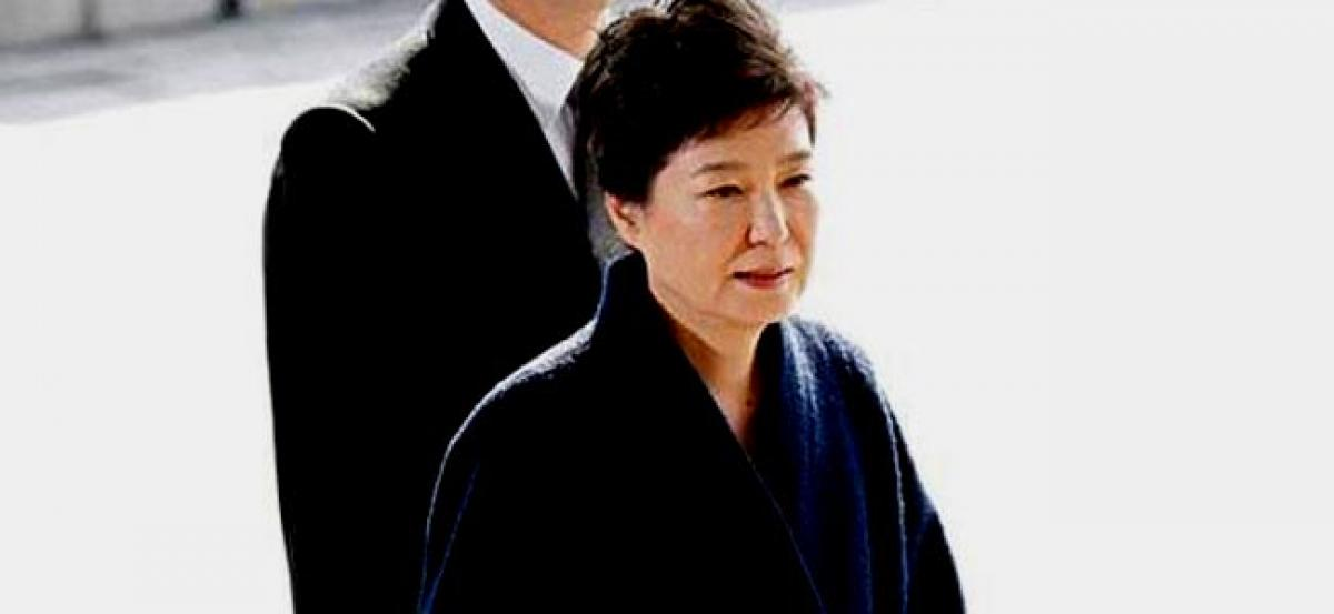 Ousted South Korean President Guen-hye charged with bribery