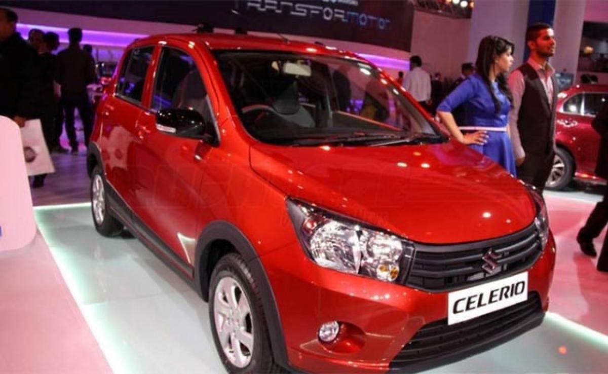 Maruti Suzuki Celerio Cross AMT features Auto Expo 2016