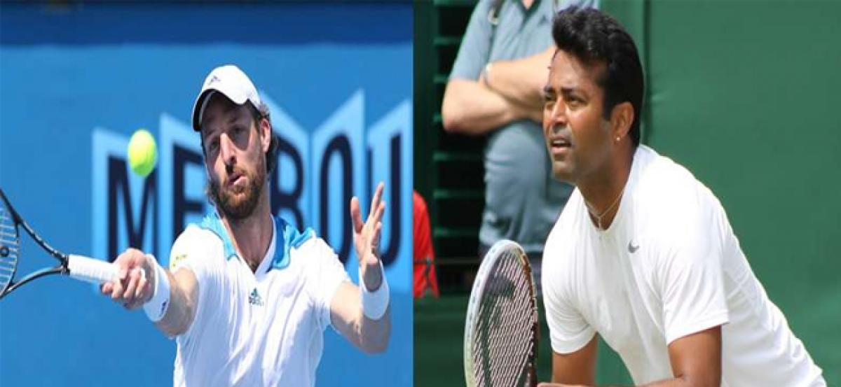 US Open: Paes-Begemann go down fighting in opening round