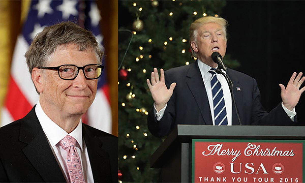 Bill Gates urges Donald Trump to inspire Americans like JF Kennedy did