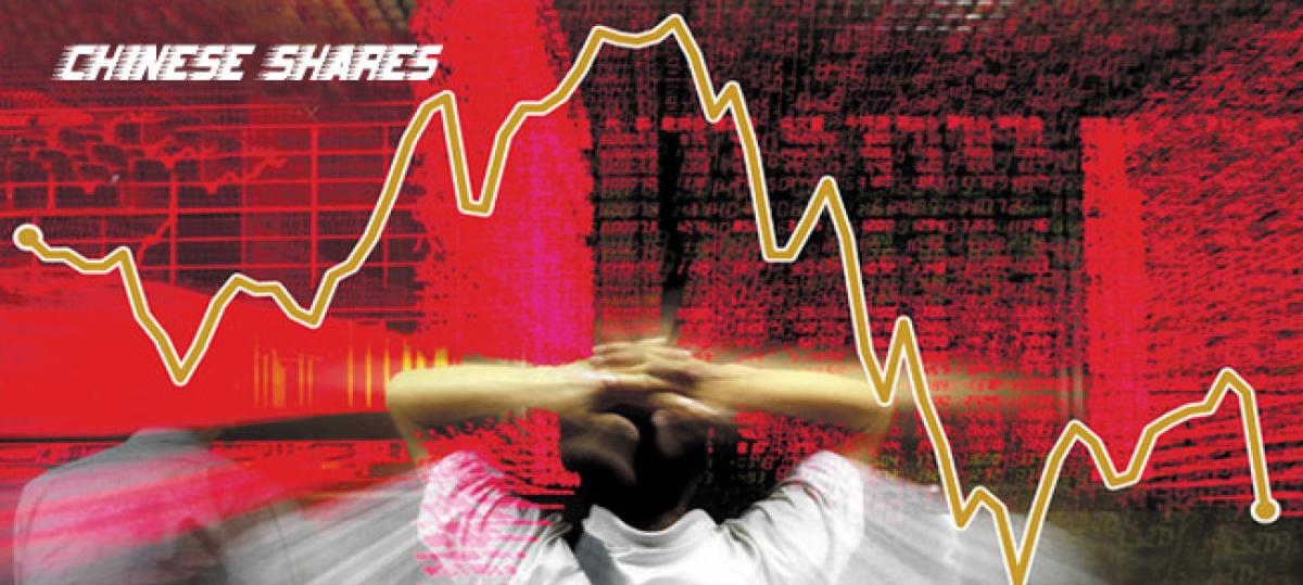 Chinese shares dive over six percent