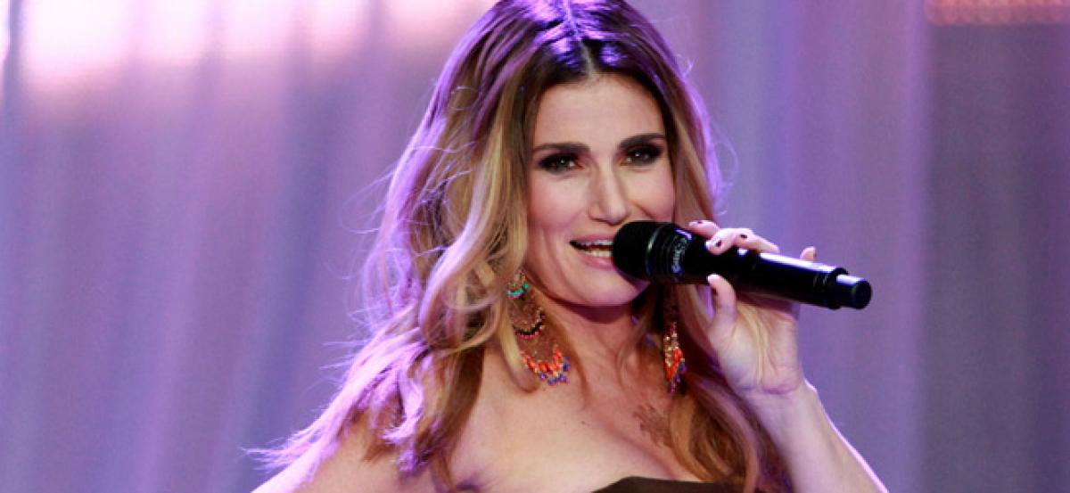 Idina Menzel choked while auditioning for Wicked