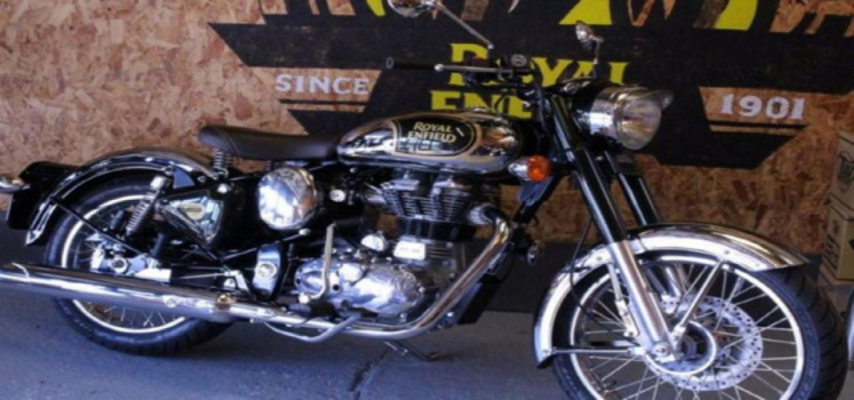 Euro 4 Royal Enfield bikes get Rear Disc & ABS in Europe