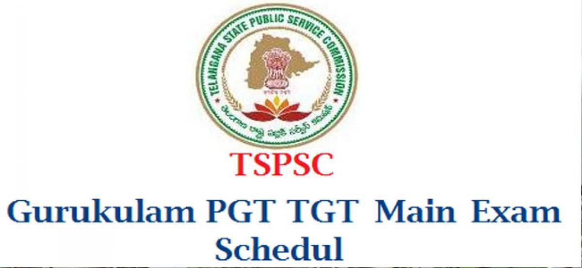 PGT, TGT exam schedule revised