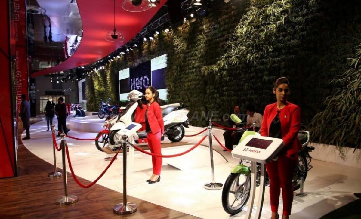 Hero MotoCorp wins Best Two-Wheeler Pavilion Award – 2016 Auto Expo