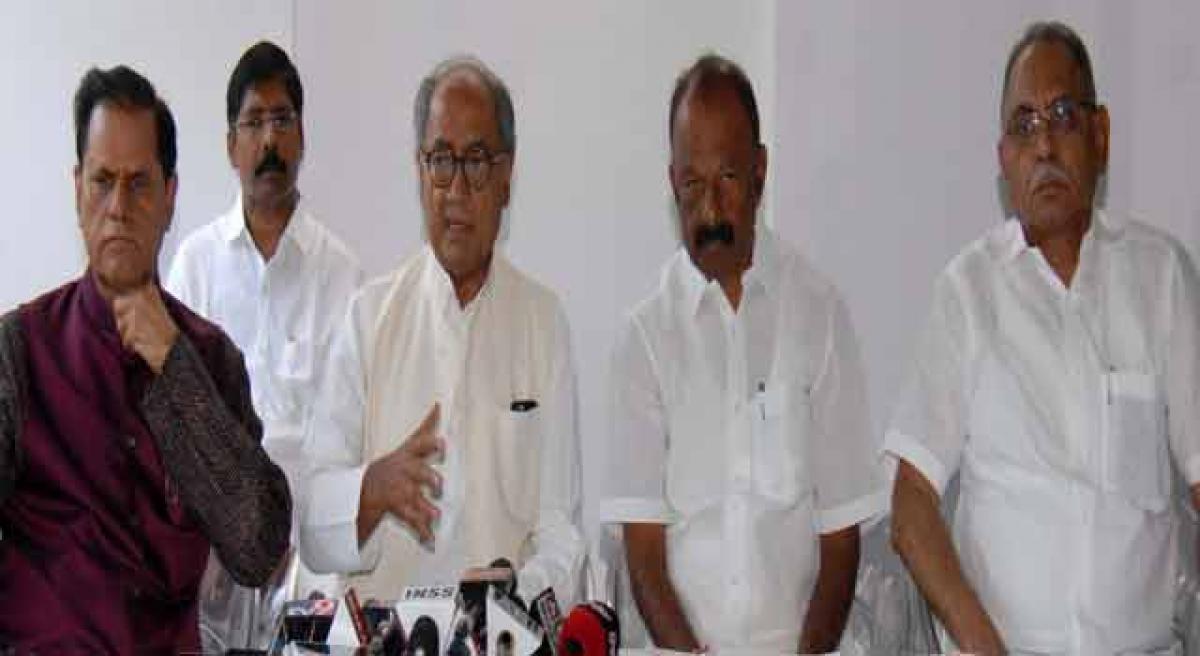 TDP should leave NDA: Congress