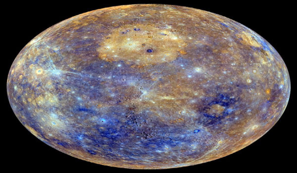 'Great valley' found on Mercury indicates shrinking of planet