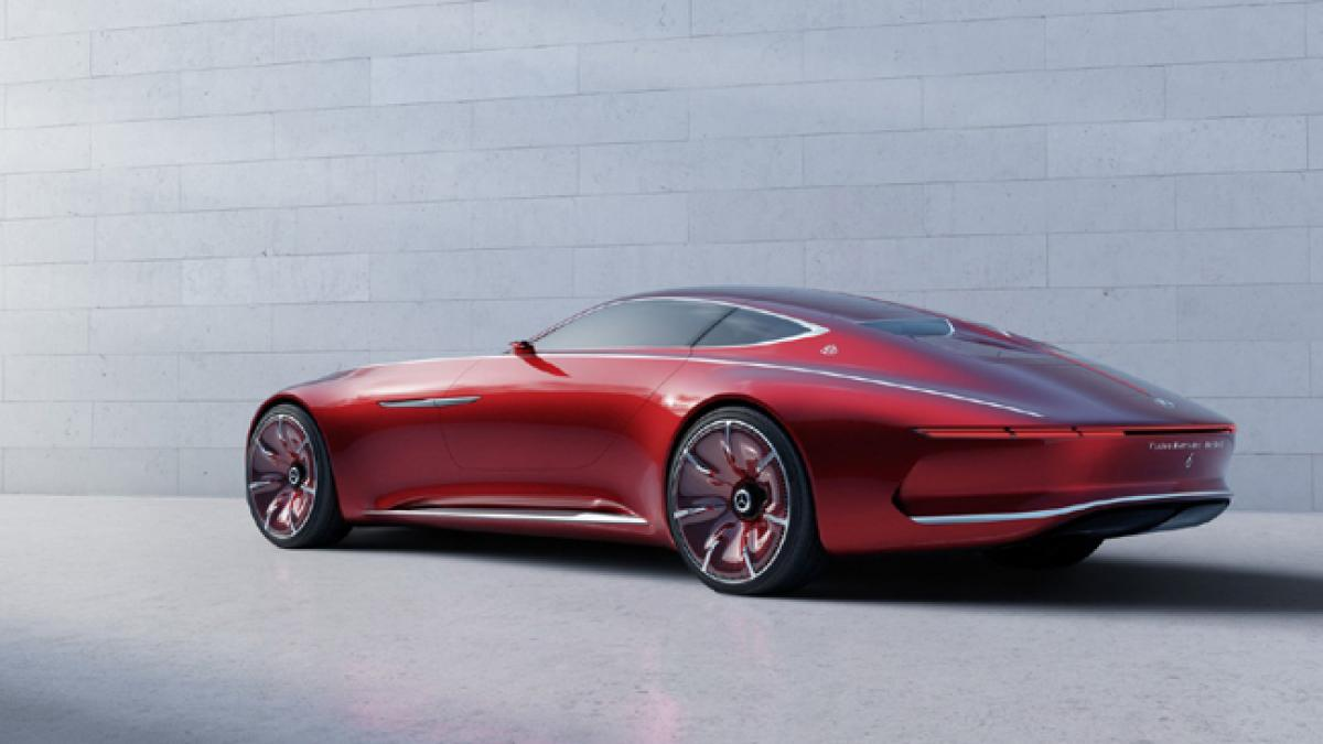 Mercedes-Maybach 6 concept gives a peek into the future era of luxury cars