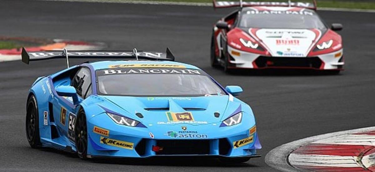 Armaan to race in Lamborghini Super Trofeo Asia Championship