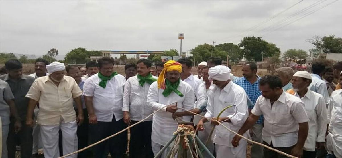MLA assures timely help to farmers