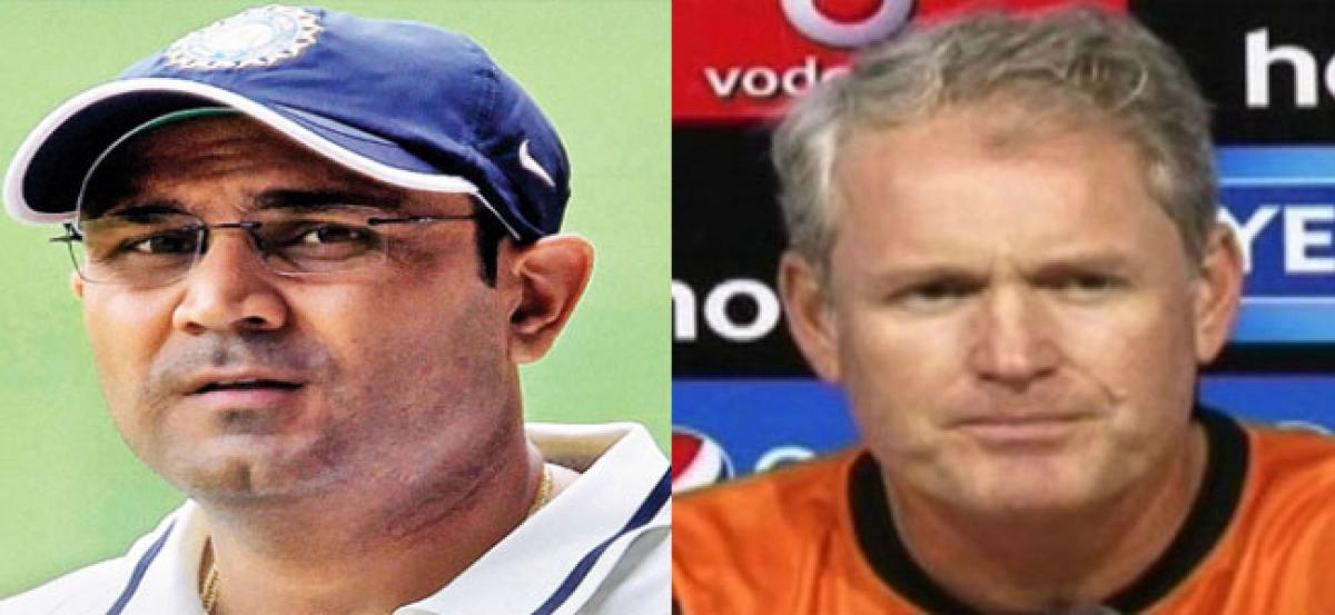 Virender Sehwag bids for Team India coach post