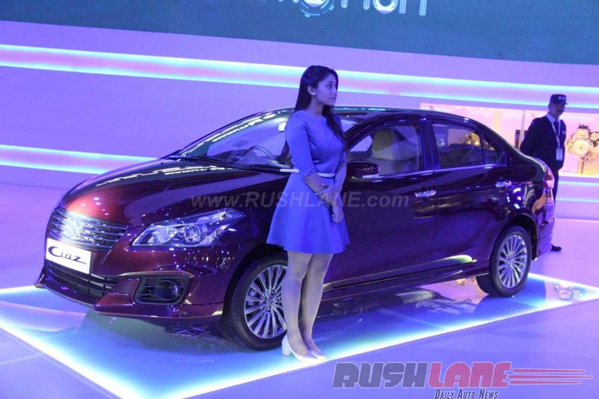 Features Maruti Ciaz ZXi+ AT price in India