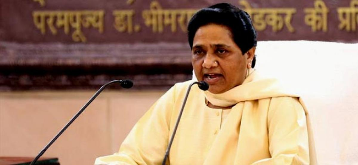 UP Elections 2017: Mayawati hits out at PM; says Modi giving casteist, communal tinge to campaign