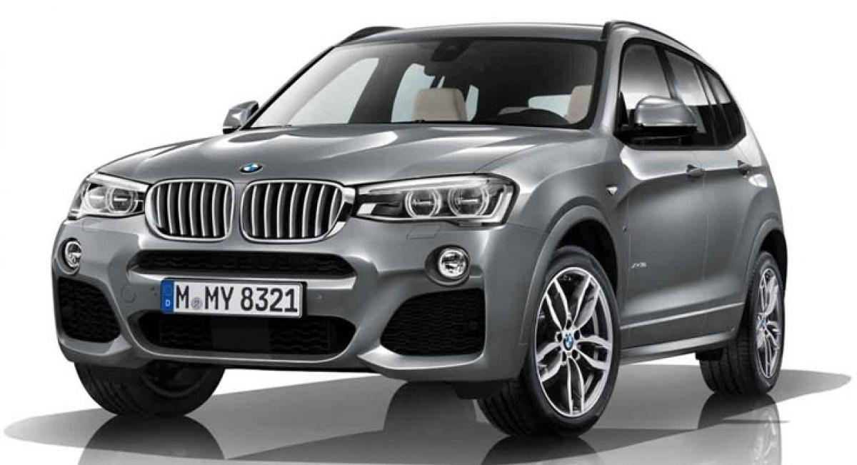 BMW launches X3 xDrive30d in India