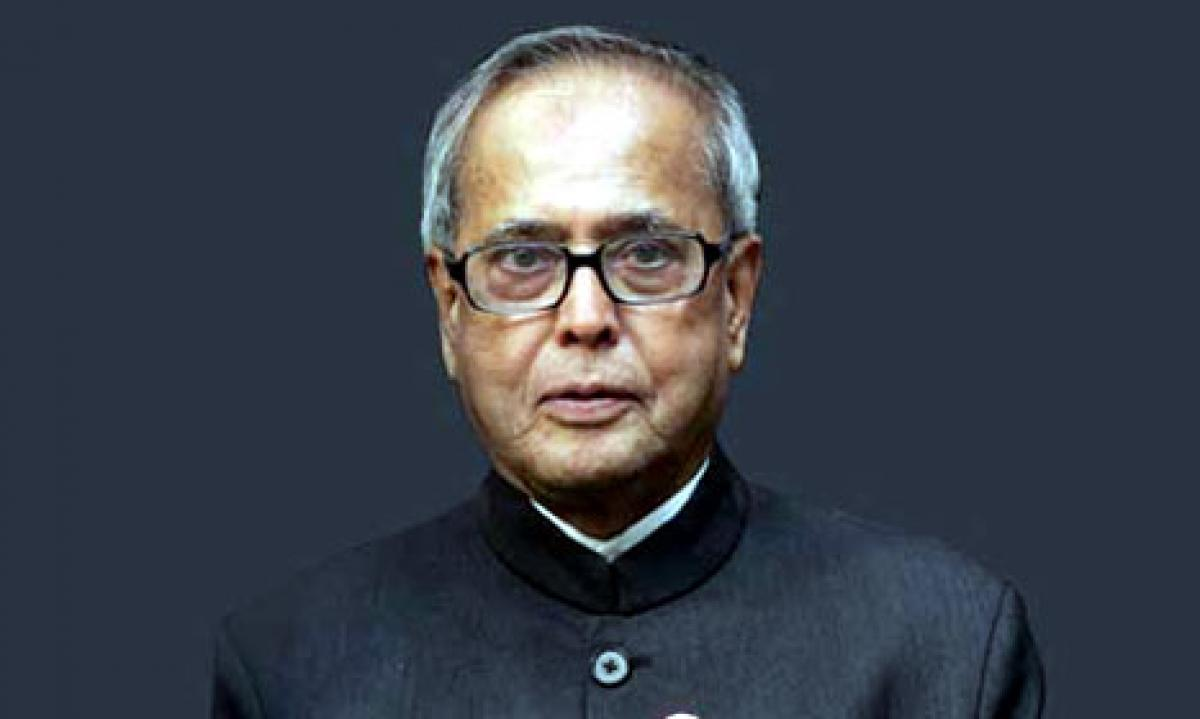 Envoys of five nations presented credentials to President Mukherjee