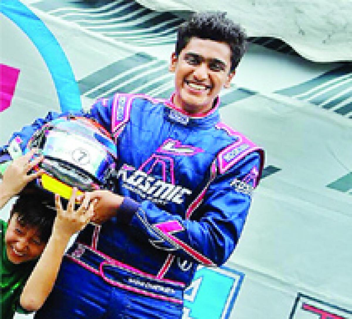 Chaterjee claims a double in JK Racing