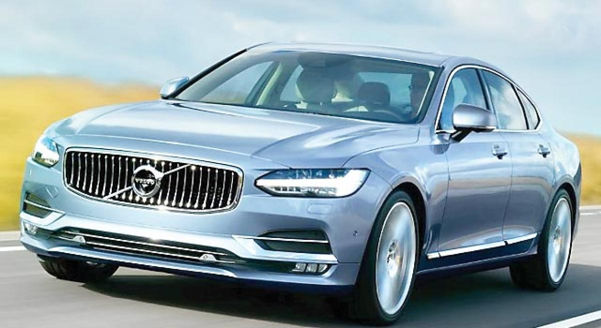 Volvo S90 imported for certification launch this year