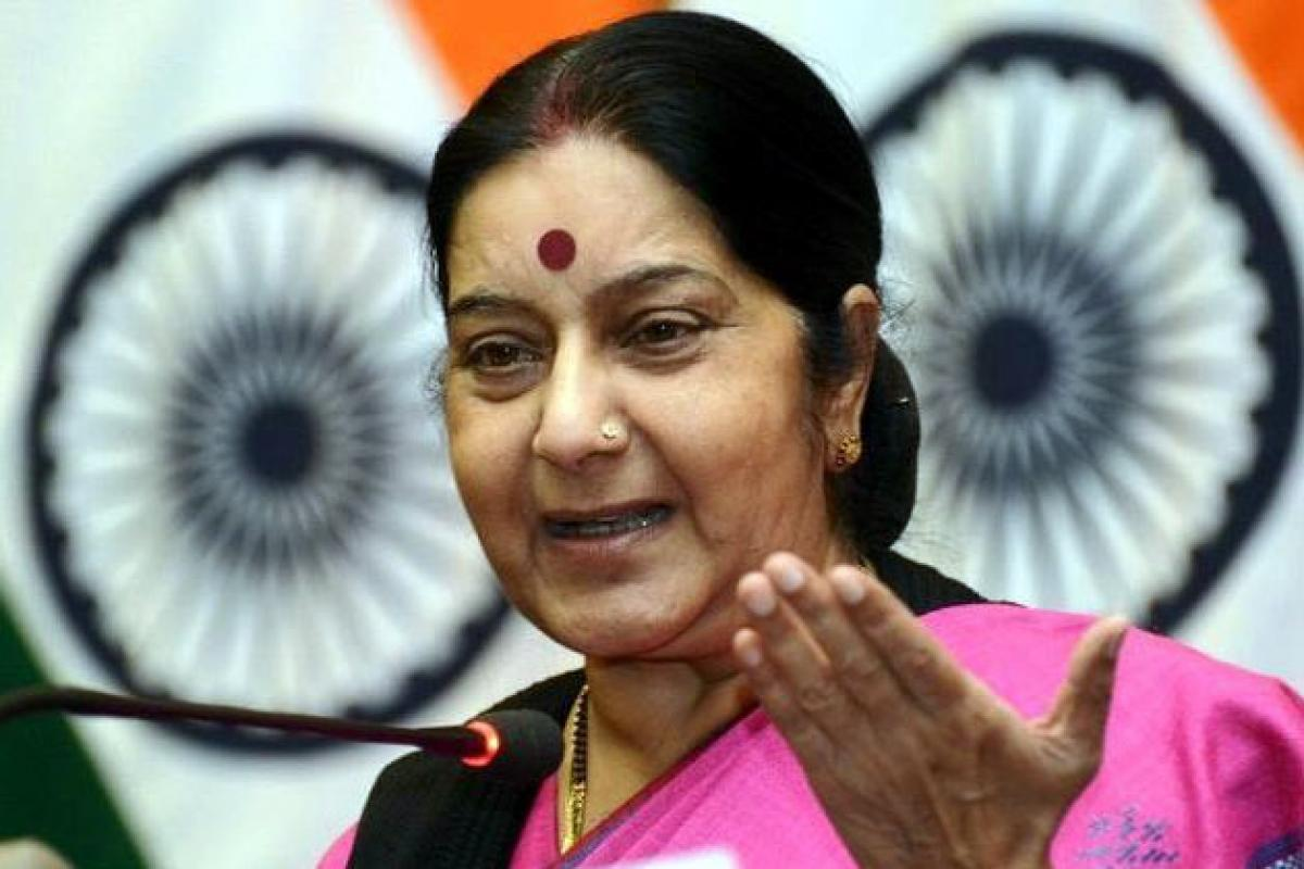 Sushma on two-day visit to Maldives