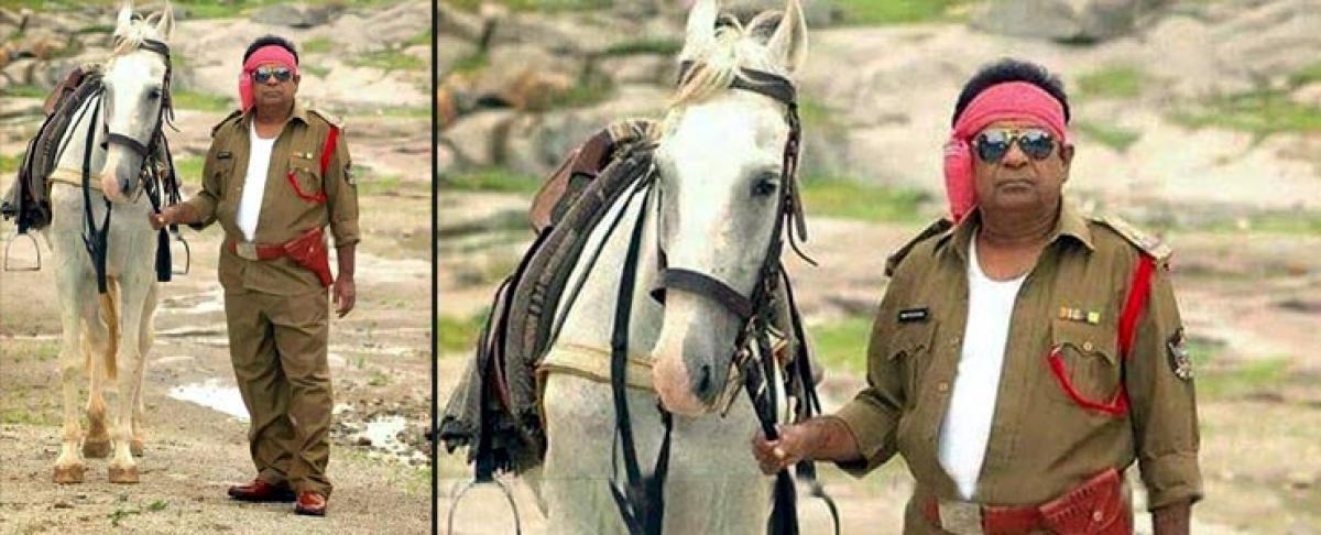 Pic Talk: Brahmanandam as Gabbar Singh