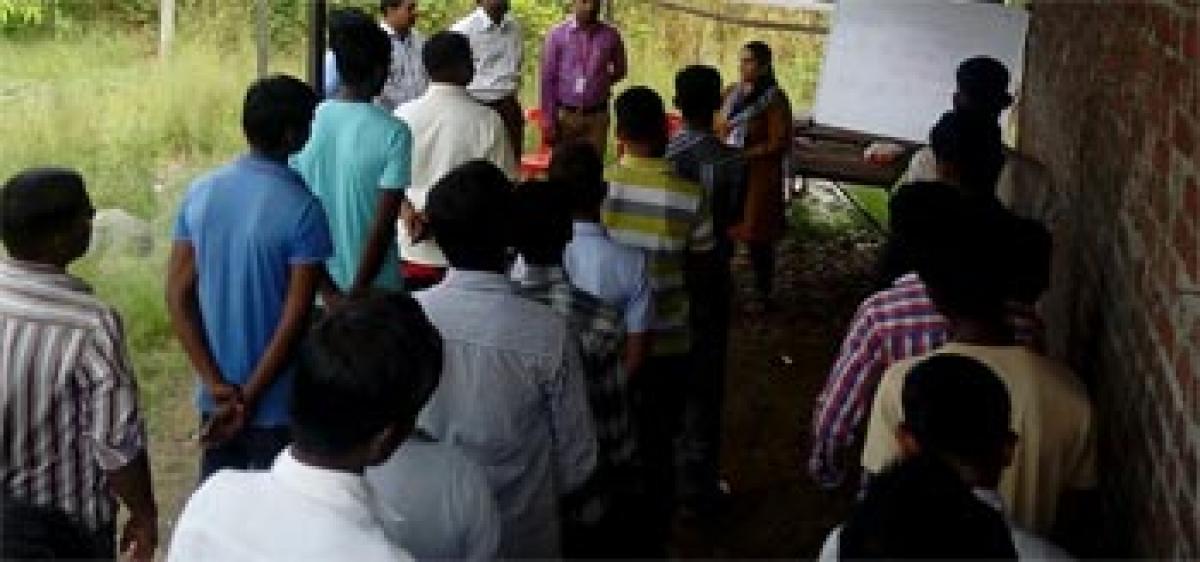 Workshop on skill development