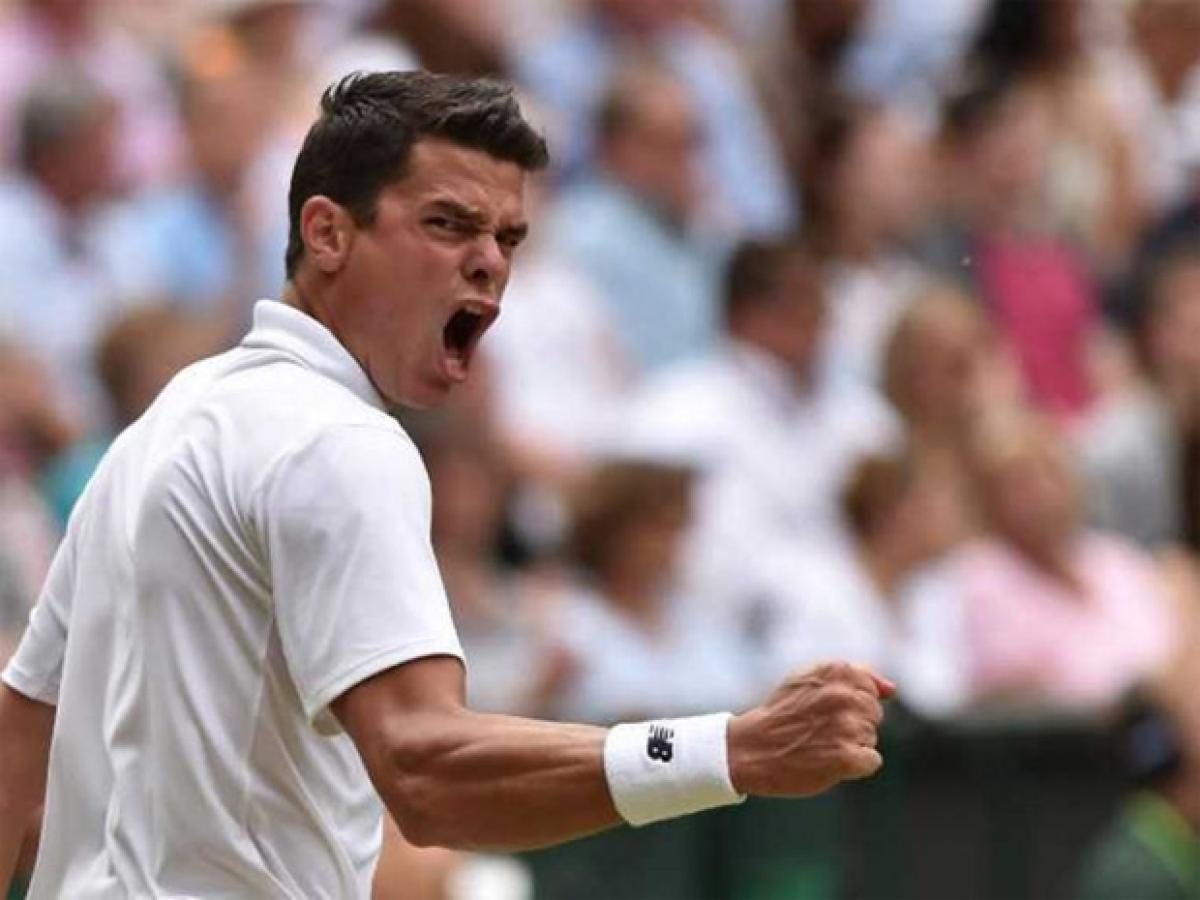 Milos Raonic Stuns Roger Federer, To Face Andy Murray in Wimbledon Final