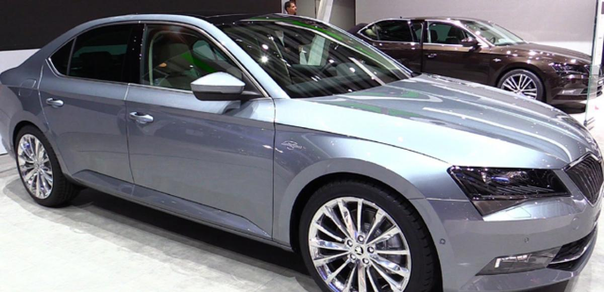 2016 Skoda Superb Laurin and Klement variant coming to India