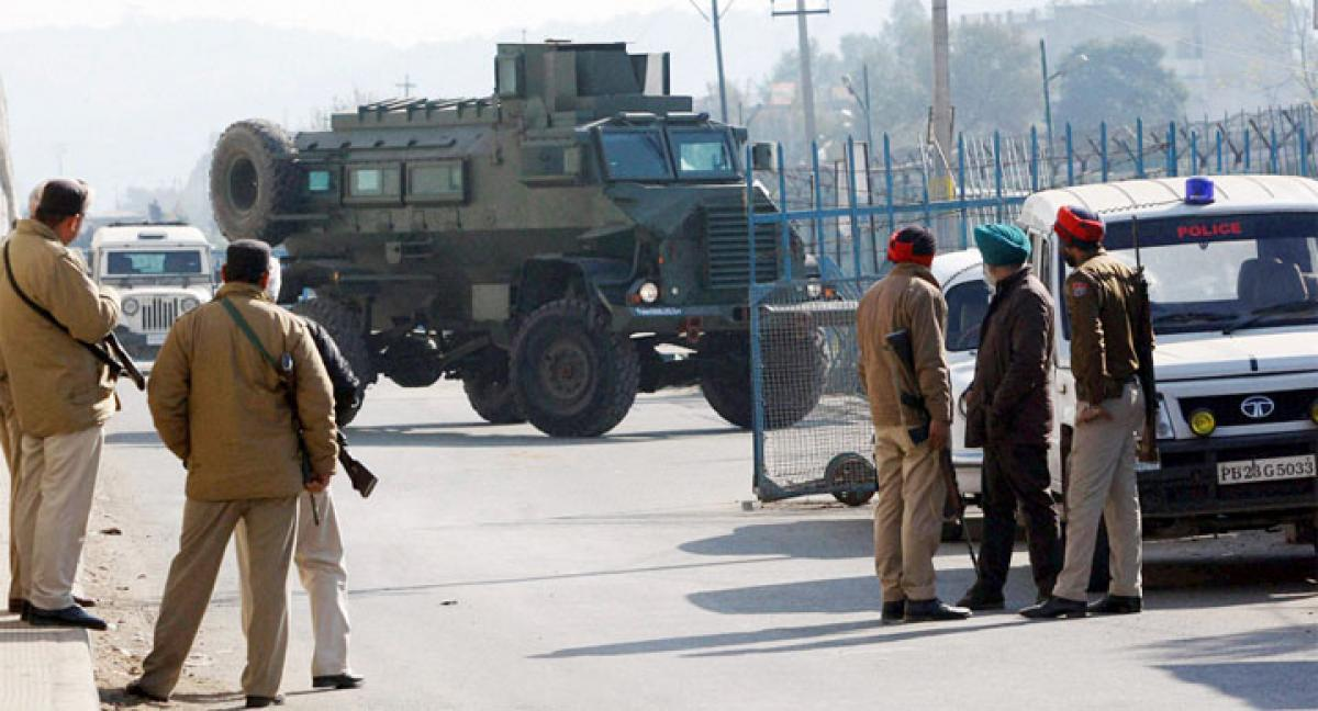 Fresh blast at Pathankot air base, 3 jawans injured