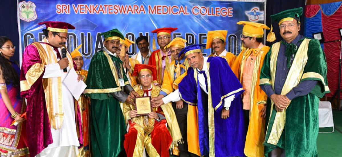 Be honest in profession, docs told