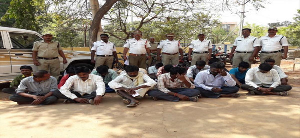 Court imprisons 20 persons for drunken driving