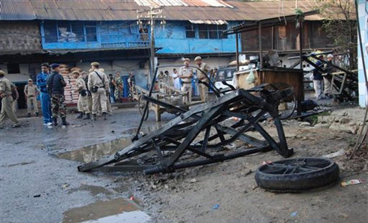 Two blasts in Manipur