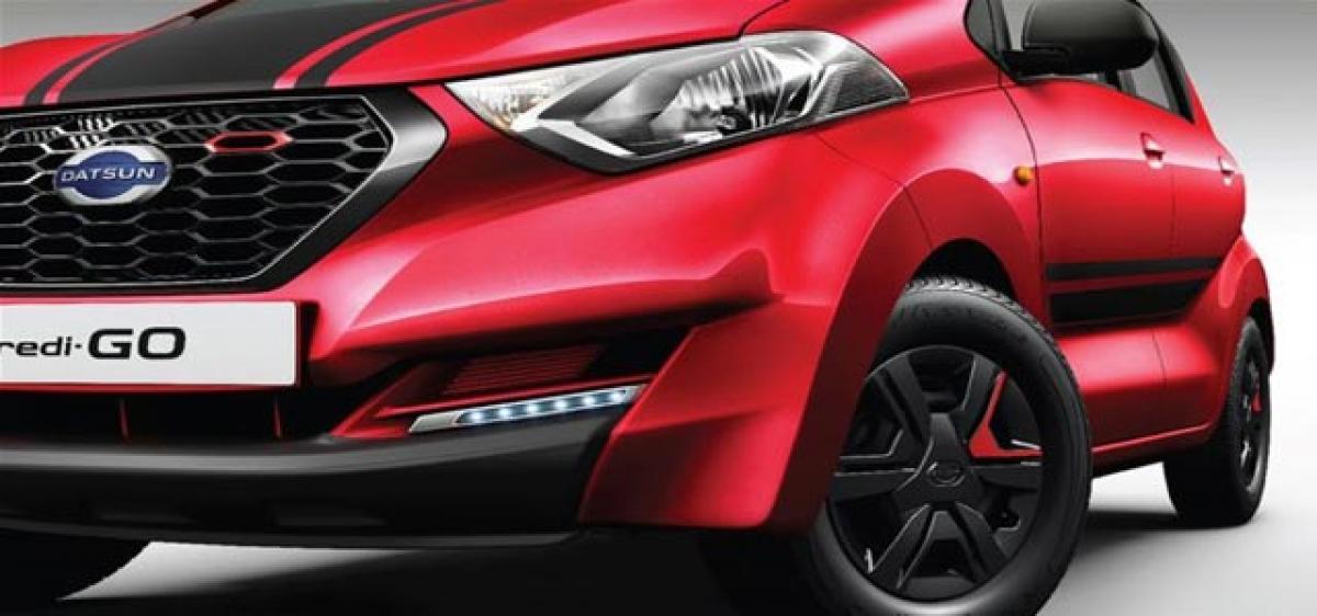 Datsun redi-GO Sportproduction increased by 800 units