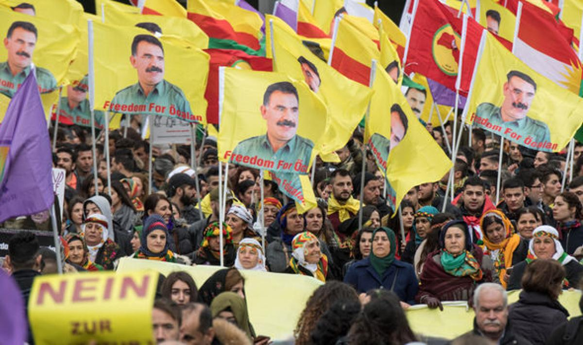 30,000 Kurds stage anti-Erdogan protest in Germany
